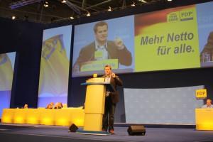 Rede beim Bundesparteitag
