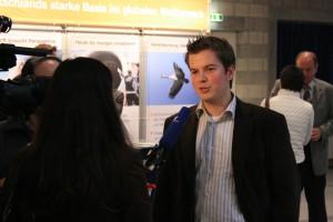Interview mit dem Hessischen Rundfunk