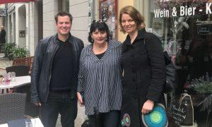 Treffen mit Rita Groß und Miriam Hollstein