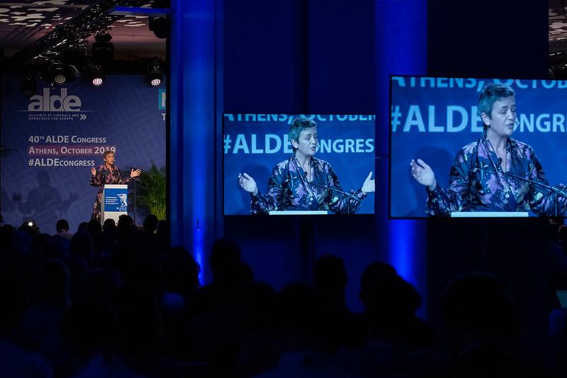 Vestager beim ALDE-Congress Athen