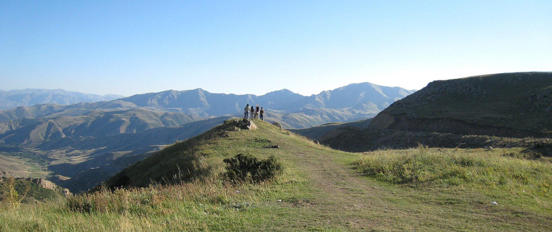 Freiheit in der Nähe des Sewan-Sees in Armenien